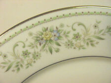 "NORITAKE 2897 ""GREEN HILL"" 8 SALAD PLATES & 7 BREAD & BUTTER PLATES  $121 VALUE"