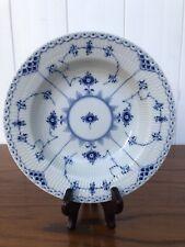 New ListingRoyal Copenhagen Blue Fluted Half Lace Rim Soup Salad Bowl 566 1st Quality