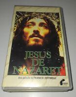 PELICULA VHS JESUS DE NAZARET - EDICION ESPECIAL DOBLE CINTA