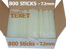 800 x TEXET Mini Hot Melt Electric Glue Gun Sticks Craft Adhesive 100 x 7.2mm