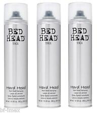 Tigi Bed Head hard Head lacca hairspray per forte tenuta 3 x 385 ML