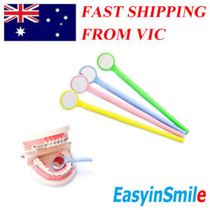 4 pcs Easyinsmile Intro Oral Disposable Dental Moth Mirror Reflector Plastic