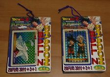 LOT DRAGON BALL Z DBZ PP PART 23 PULL PACK X2 CARDDASS CARD CARTE UNOPENED JAPAN