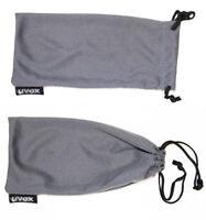 UVEX Brillen Aufbewahrung Sack Stoffbeutel grau Sonnenbrille Sportbrille S-N 3