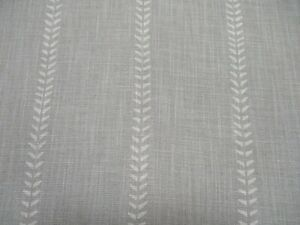 """Andrew Martin Curtain Fabric """"NILE - STONE"""" 3 METRES (300cm) Linen Blend"""