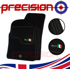 Fitted Tailored Car Mats with 500 Logo & Italian Flag for Fiat 500 2007-2012
