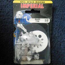 1988 épica batalla Imperial Guard Reaver Clase Titan una ciudadela 40K Warhammer MIB