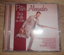 Peter Alexander - Das tu ich alles aus Liebe (Album)