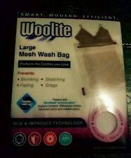 """IMPROVED TECHNOLOGY  WOOLITE LARGE ANTIMICROBIAL MESH WASH BAG 15""""W X 17.5""""H"""