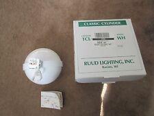 rudd lighting classic cylinder white tsp3rwh track lighting
