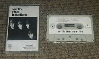 With The Beatles Vintage Early Paper Label Cassette Tape Out Of Print IMPORT