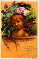 1880'S. ATLAS R.M. PAINT, JOHN HEINITSH, PAINT DEPOT. LANCASTER, PA. (QUEEN ST)