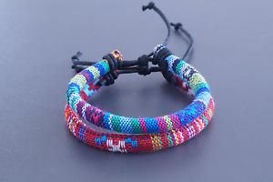 2x Fußband Made by Nami Fußkettchen Fußbändchen Boho Hippie verstellbar