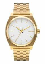 *BRAND NEW* NIXON WATCH THE TIME TELLER GOLD / WHITE A045508 NEW IN BOX!