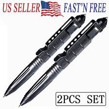 2pcs set Tactical Pen Self Defense Police Military Emergency Gear Window Breaker