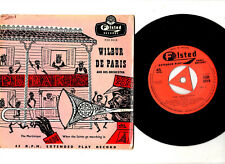 """RARE JAZZ EP"". WILBUR DE PARIS. La Martinique/quand les Saints. UK Orig (1956) 7"""