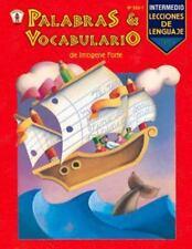 Palabras Y Vocabulario: Nivel Intermedio (Lecciones De Lenguaje) (Spanish