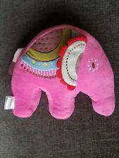 John Lewis Abbey Elephant pink plush toy room accessory