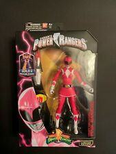2016 Bandai Mighty Morphin Power Rangers Legacy Collection Series 2 Pink Ranger