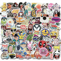 100Pcs Vinyl Graffiti Stickers Bomb Skateboard Luggage Laptop Car Decal Pack Toy
