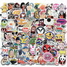 100Pcs Stickers Pack Bomb Skateboard Luggage Laptop Car Graffiti Dope Decals Toy