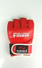 7oz MMA Gloves L-size  Red sparing gloves.kyokushin.karate