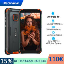 Blackview BV4900 Outdoor Smartphone Ohne Vertrag Android 10 IP68 Robust 4G Handy