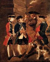 Oil Joshua Reynolds - Portrait Of Charles Turner, Sir William Lowther, Joseph