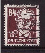 DDR, Mi-Nr. 341 vXI, gestempelt,  Attest, Bebel (20306)