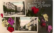 Saluti da NOCERA INFERIORE  -  Via Francesco Solimena - Via Giovanni Nicotera