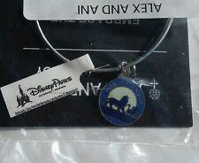 Disney Parks Alex and Ani Lion King Hakuna Matata Silver Charm Bangle Bracelet