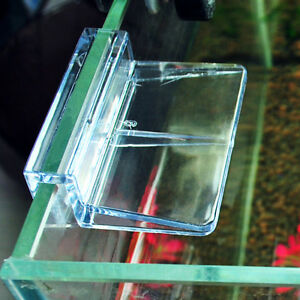 6/8mm Aquarium Tank Clear Plastic Clips Glass Cover Strong Support Holder x!S*wk