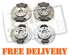 VAUXHALL ASTRA H 2005-2011 FRONT & REAR BRAKE DISCS + PADS SET 280mm Vented NEW