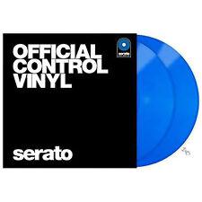 Rane Serato DJ Scratch Live Time Code Control Vinyl V 2.5 Pair - Blue +Picks