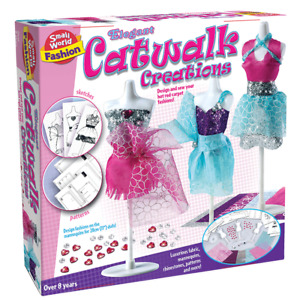 ELEGANT CATWALK CREATIONS  Small World Toys Fashion create for 28cm dolls