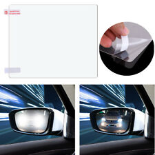 2X Rainproof Clear Car Side View Mirror Film Glass Protector Scratch Resistant