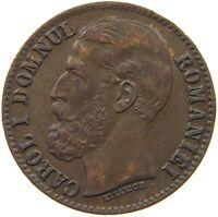 ROMANIA 2 BANI 1879 #s36 737