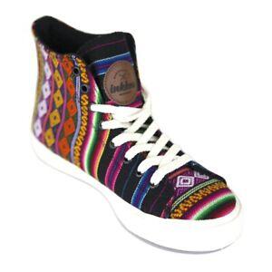 Inkkas Black Spectrum - Vegan High Top Sneakers Ethical Comfy Durable