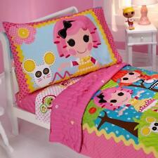 Disney Lalaloopsy Sew Cute 4 Piece Toddler Bedding Comforter Set Crib sized NEW