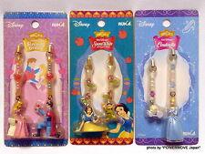 Unopened Disney Classics pair Strap Key Chain Set of 3 Snow White Cinderella