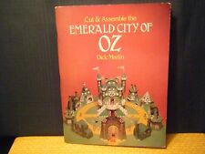 Cut & Assemble the Emerald City of Oz by Dick Martin 1980