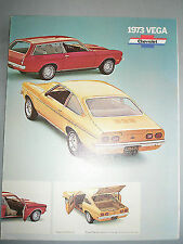 FOLLETO de CHEVROLET VEGA 1973