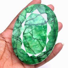 2417 Cts Certified Natural Brazilian Emerald Huge Museum Size Oval Cut Gemstone