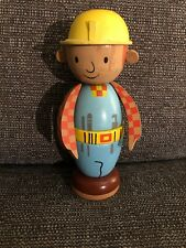 Rare Wooden Stacking  BOB THE BUILDER figure