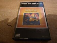 CROSBY STILLS AND NASH - REPLAY - CASSETTE TAPE - PAPER LABEL.