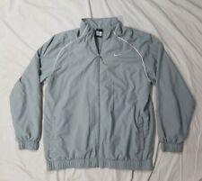 NIKE Golf Dri-Fit Mens Gray Full Zip Light-Weight Athletic Golf Jacket X-Large