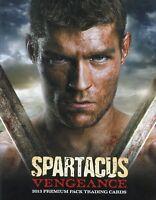 Spartacus Vengeance Premium Pack Card Album
