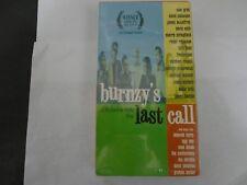 BURNZY'S LAST CALL VHS NEW MICHAEL DE AVILA FILM