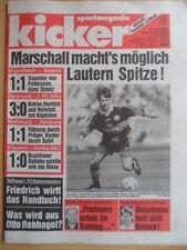 KICKER 65 - 7.8. 1997 Gladbach-Bayern 1:1 Dortmund-Köln 3:0 Wolfsburg-HSV 1:1