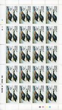 CAYES OF BELIZE 1985 AUDUBON BIRD STAMPS - MINT NEVER HINGED FULL SHEETS